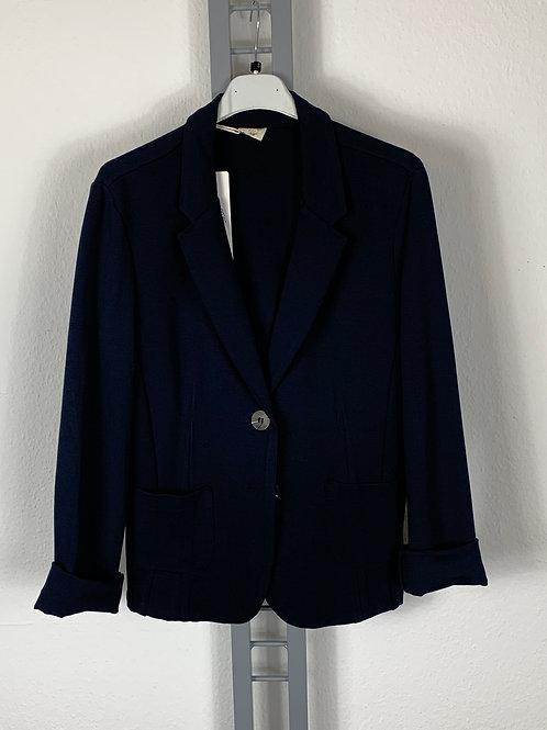 Klassischer Blazer aus Jersey (Marineblau)