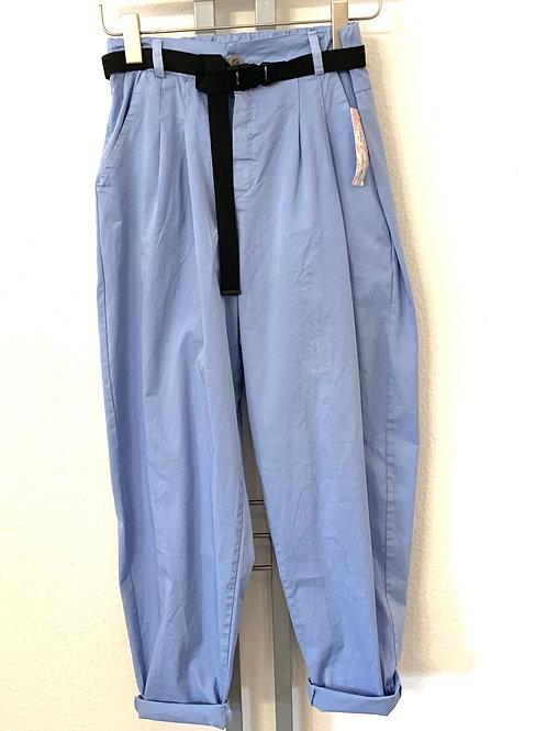 Weite Hose aus Bauwolle