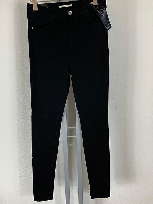 Scharze Skinny-Jeans