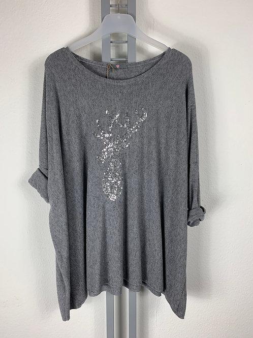 Weiter Pullover / Shirt Rudi