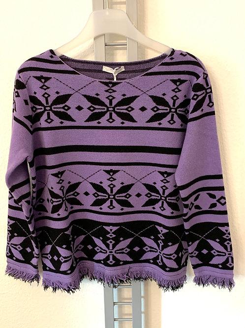 Kastiger Pullover von Susy Mix