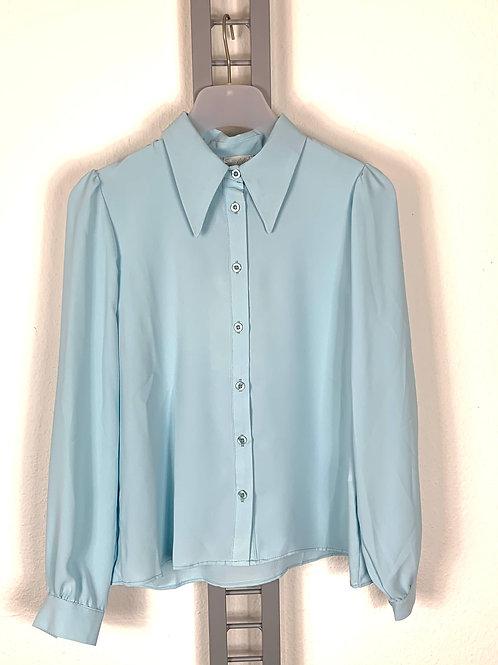 Hellblaue Bluse von Susy Mix