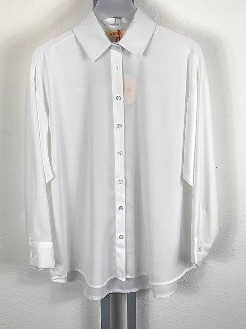 Klassische leicht transparente Bluse