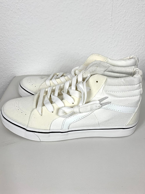 Hohe Sneaker / Materialmix