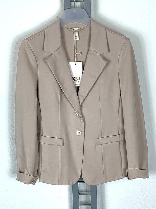 Klassischer Blazer, Sweatshirtstoff