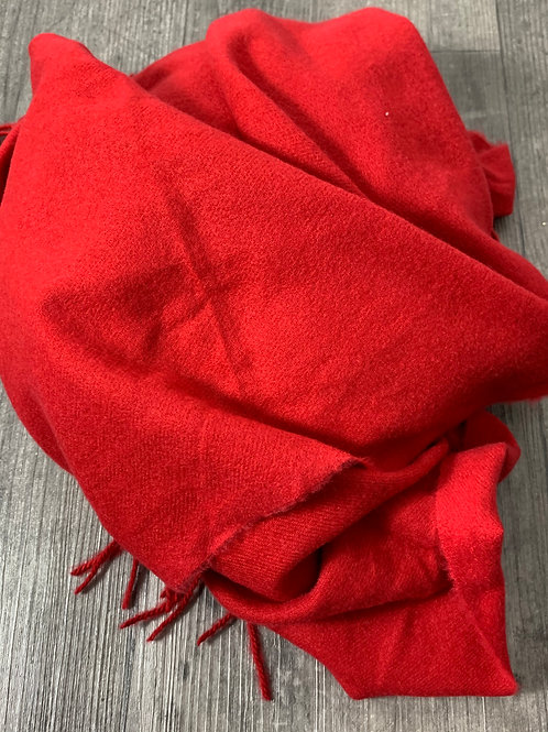 Kuscheliger Schal Rot