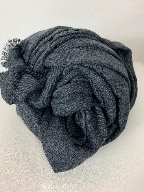 Schal mit leichten Muster Anthrazit