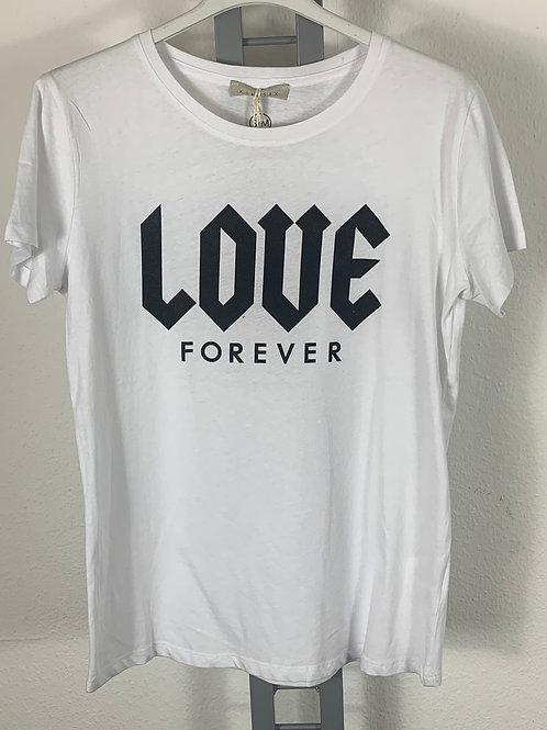 Basicshirt - Aufdruck LOVE - Kiki Six