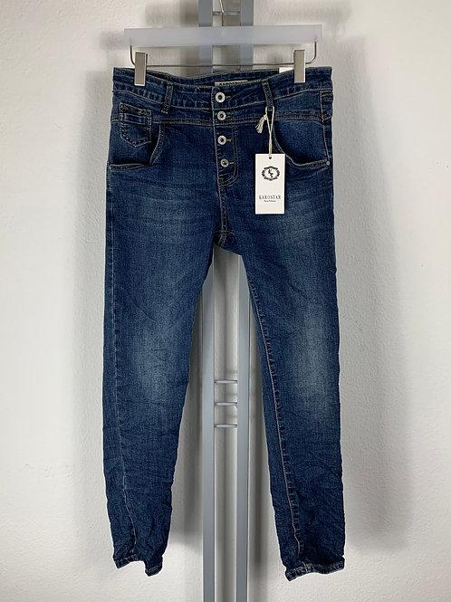 Jeans leicht ausgewaschen