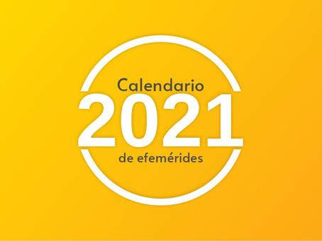 Días festivos 2021; arma tu calendario para tu estrategia de contenido en Redes Sociales