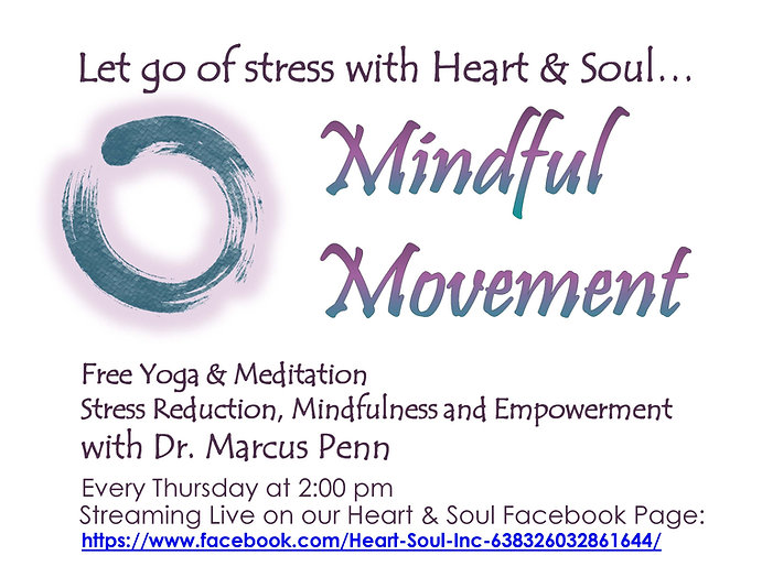Mindful Movement - Dr. Marcus Penn - Hor