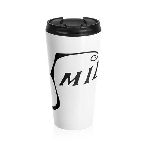 Smile Logo Stainless Steel Travel Mug