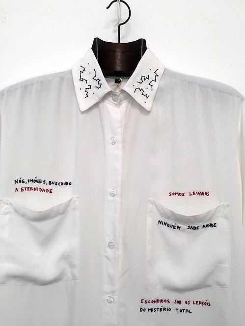 "Camisa Nadaísta ""a eternidade"""