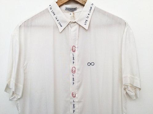 """Camisa Manga Curta """"loop"""""""