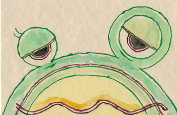 蛙始めて鳴く(かわずはじめてなく)