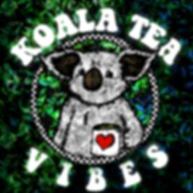 Koala Tea Vibes eucalyptus inside of euc