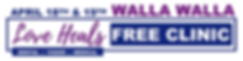 Walla Walla Free Clinic Logo