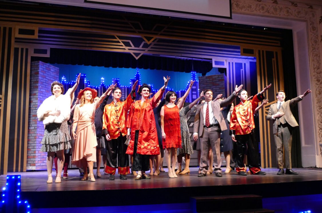 Student title role of Thoroughly Modern Millie