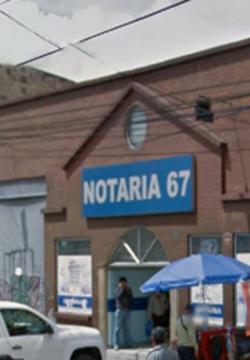 Notaría 67 de Bogotá