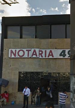 Notaría 49 de Bogotá