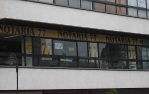 Notaría 77 de Bogotá