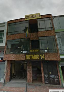 Notaría 14 de Bogotá