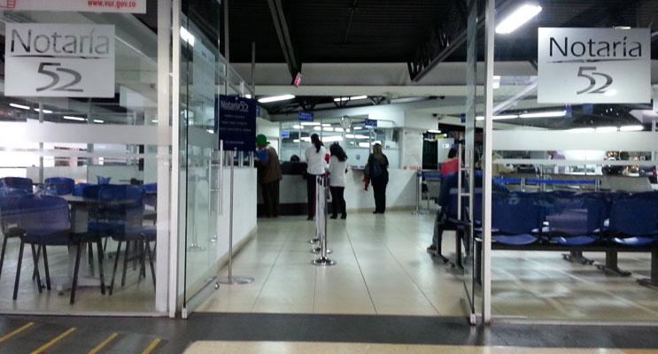 Notaría 52 de Bogotá
