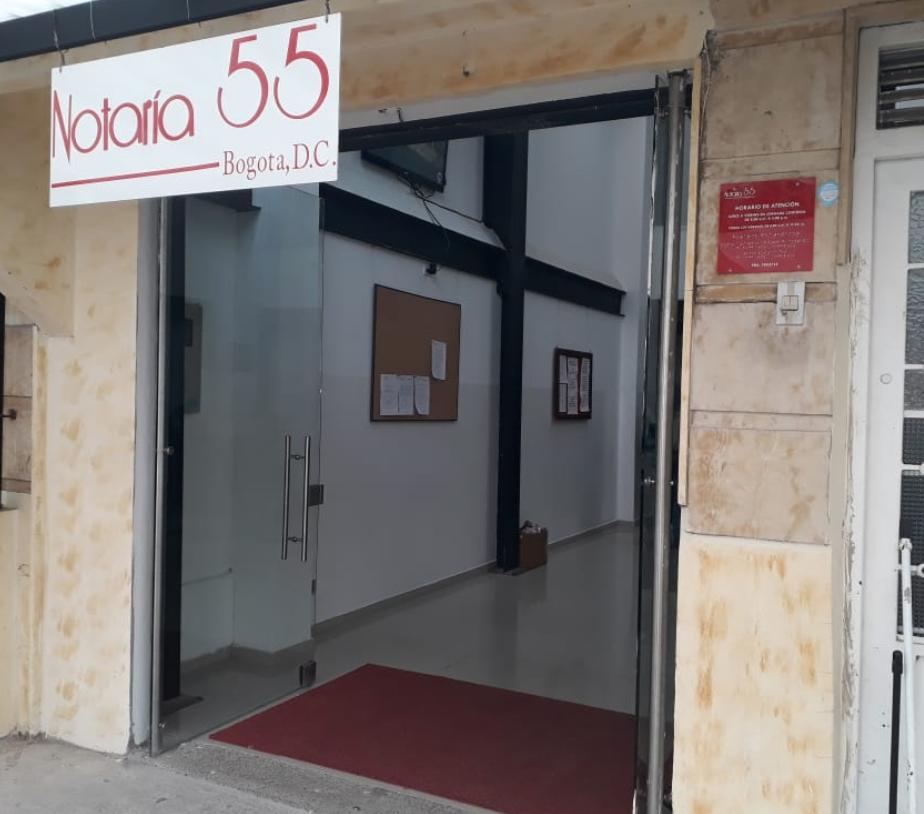 Notaría 55 de Bogotá