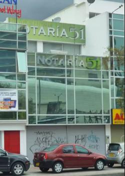 Notaría 51 de Bogotá