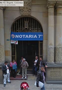 Notaría 7 de Bogotá