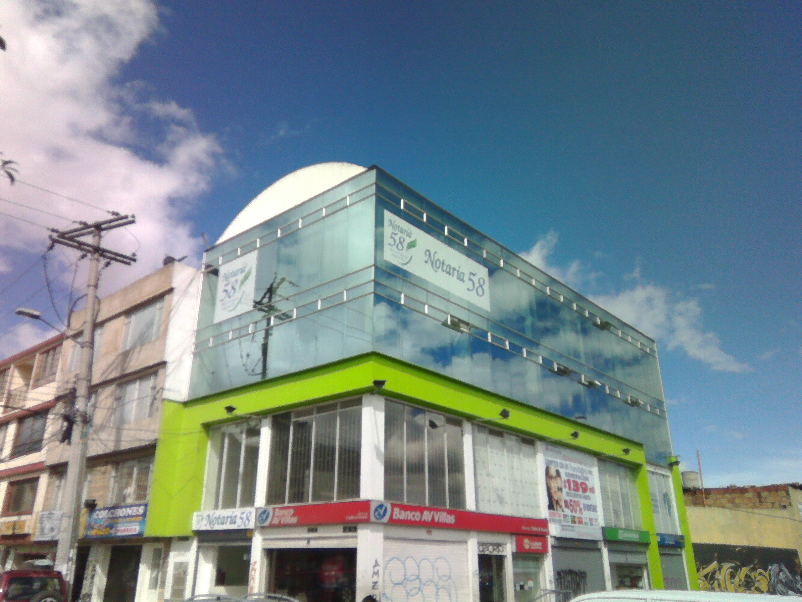Notaría 58 de Bogotá