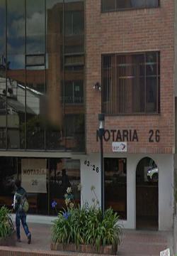 Notaría 26 de Bogotá