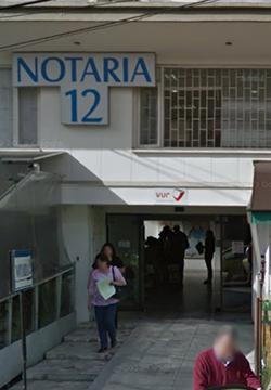 Notaría 12 de Bogotá