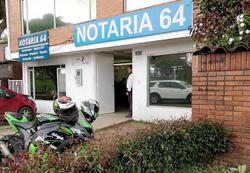 Notaría 64 de Bogotá