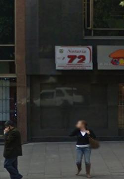 Notaría 72 de Bogotá