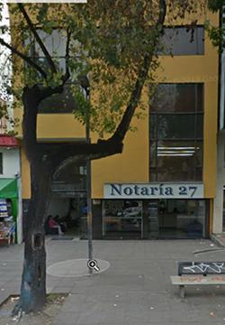 Notaría 27 de Bogotá