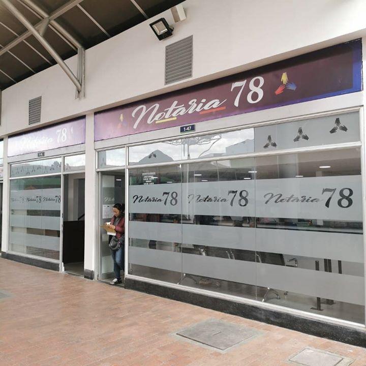 Notaría 78 de Bogotá