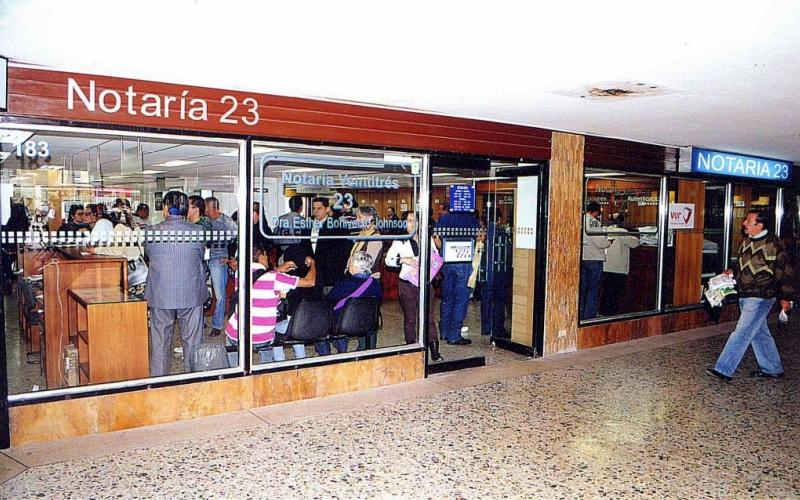 Notaría 23 de Bogotá