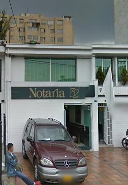 Notaría 32 de Bogotá