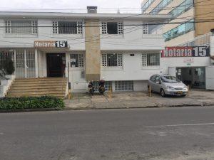 Notaría 15 de Bogotá
