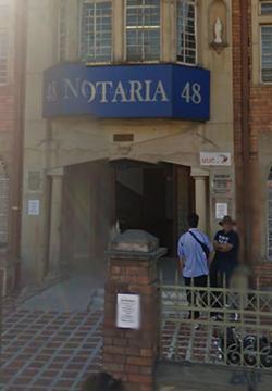 Notaría 48 de Bogotá