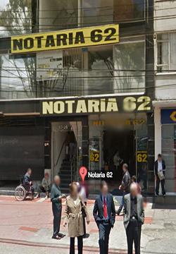 Notaría 62 de Bogotá