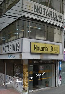 Notaría 19 de Bogotá