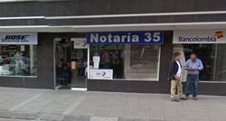 notaría 35 de Bogotá
