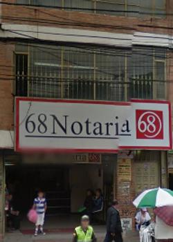 Notaría 68 de Bogotá