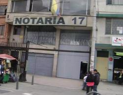 Notaría 17 de Bogotá