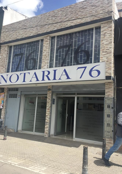 Notaría 76 de Bogotá