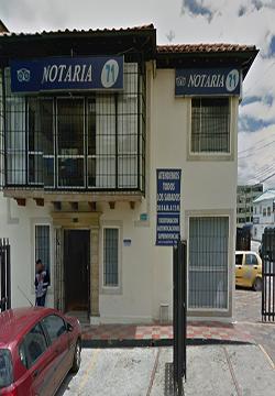 Notaría 71 de Bogotá