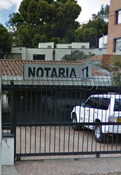 Notaría 11 de Bogotá