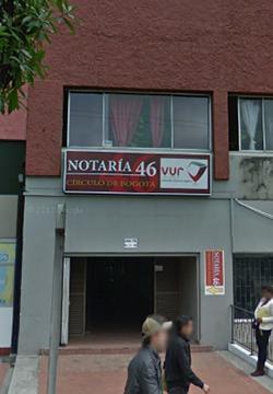 Notaría 46 de Bogotá